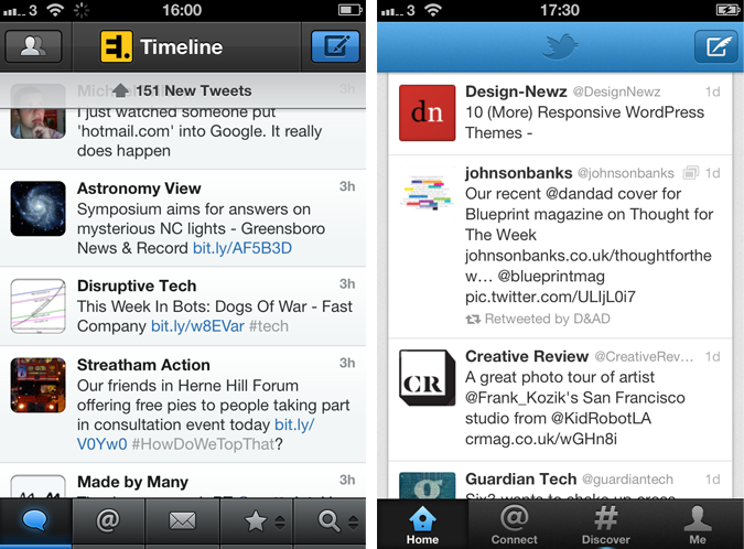 tweetbot official twitter comparison