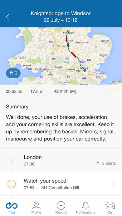 MyDrive Trips Detail
