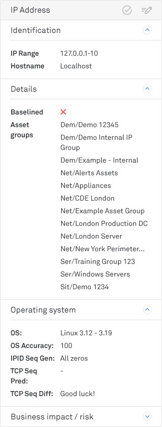Surecloud IP address