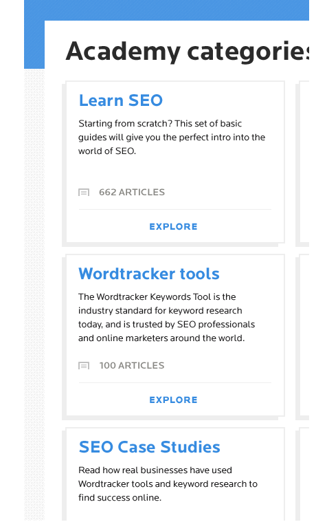 Wordtracker Academy