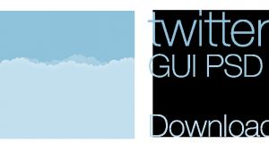 New Twitter GUI PSD 2014
