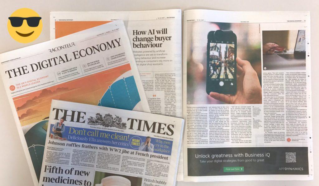 Times Raconteur Digital Economy Supplement