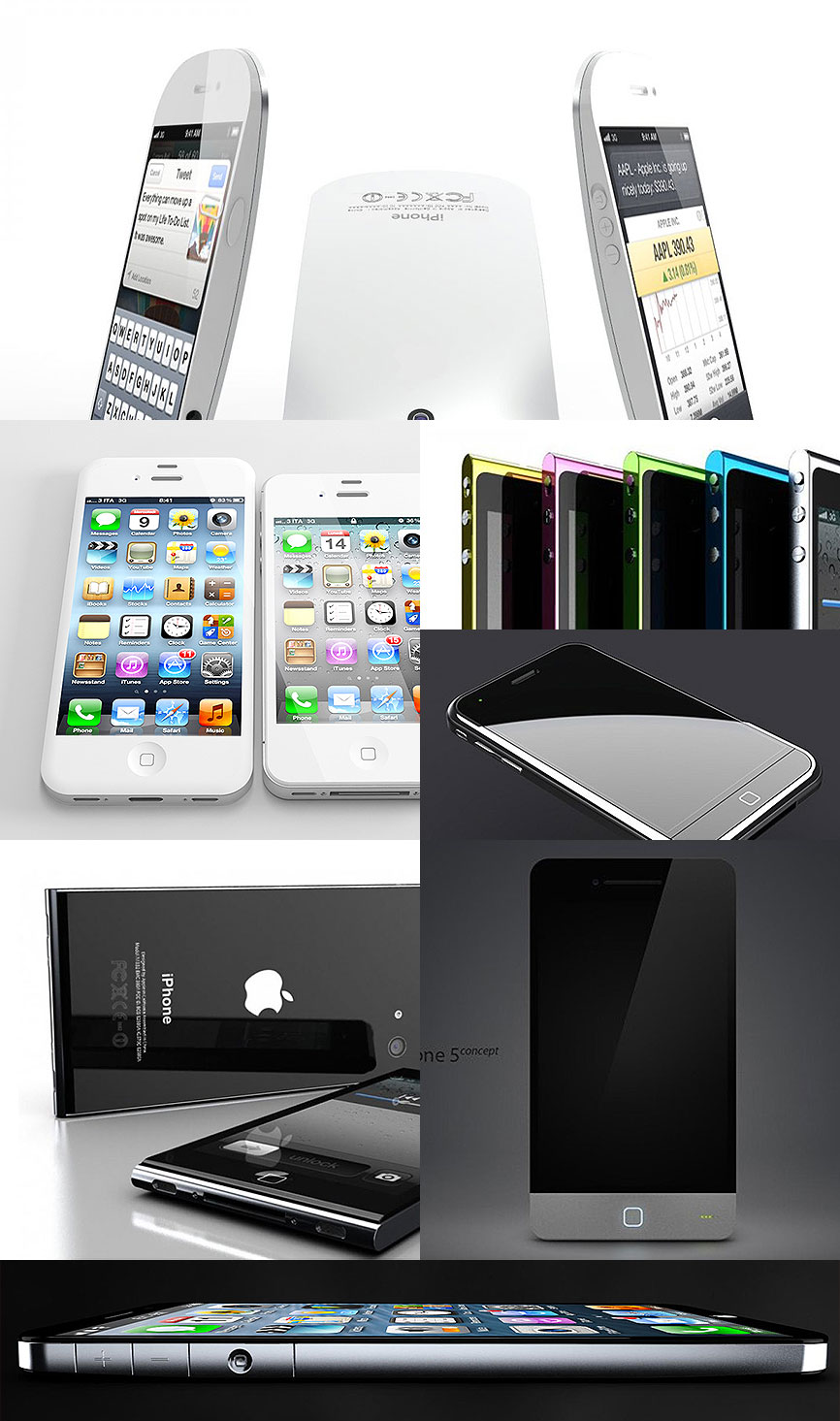 iPhone 5 concepts