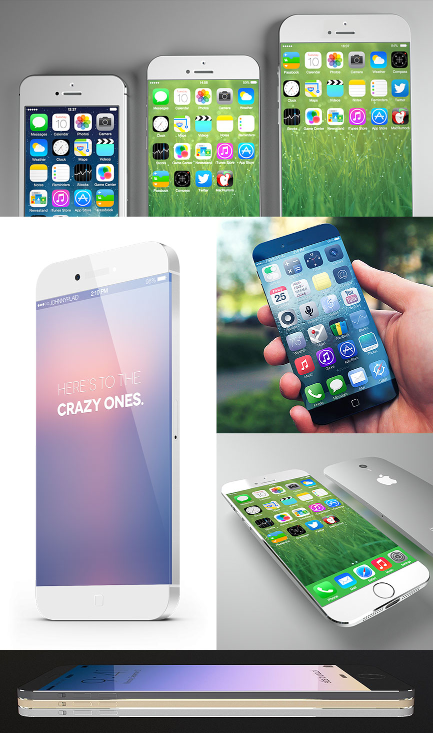 iPhone 6 concepts