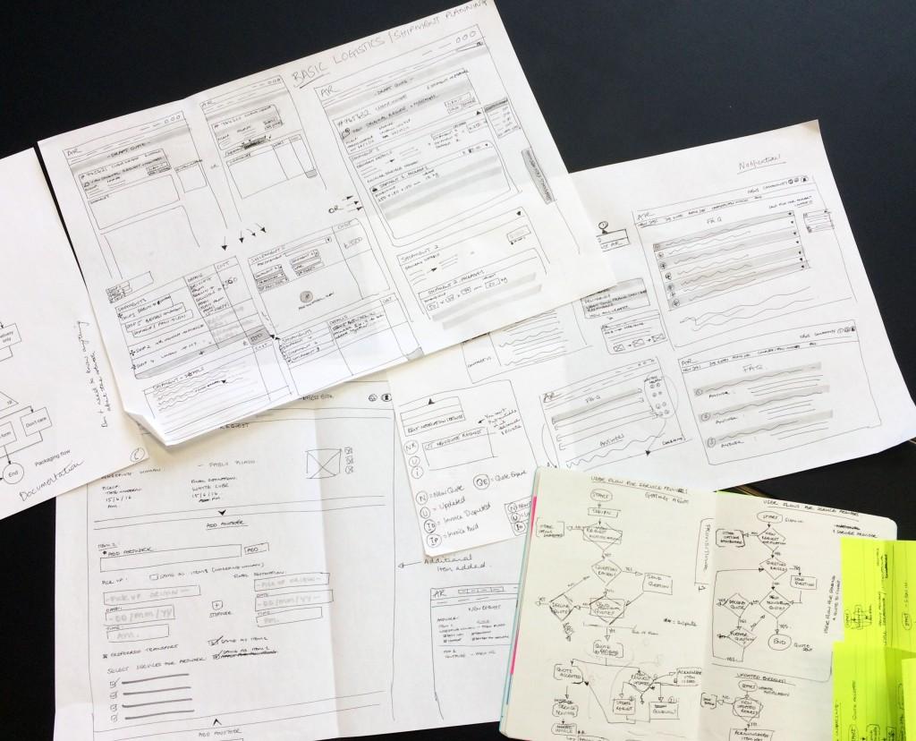 Liv - webapp designs