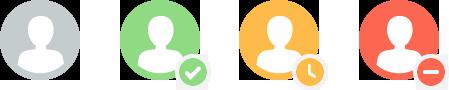 Kakapo Status Icons
