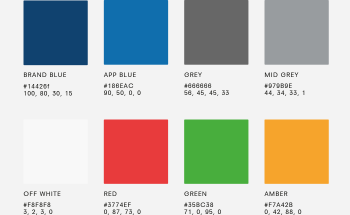 MyDrive Colour Palette