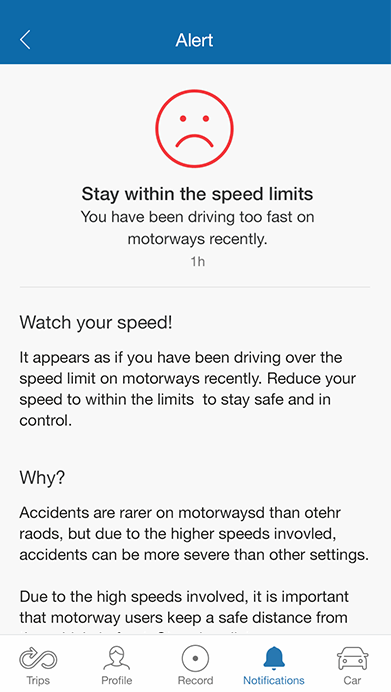 MyDrive Notifications Detail