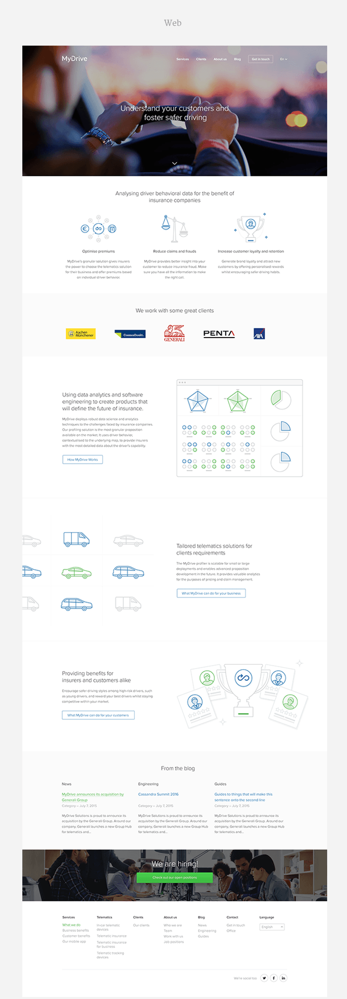 MyDrive Web