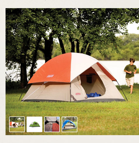 We Unite product images; tent