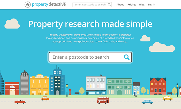 Property Detective home