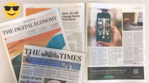 Quote in the Times – How AI will change buyer behaviour